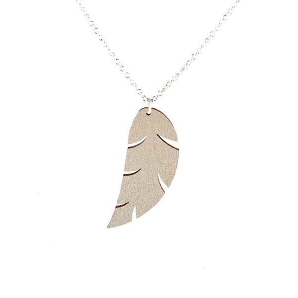 Feather necklace (Large)