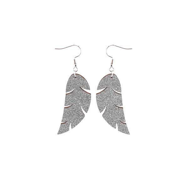 Feather earrings (Large)