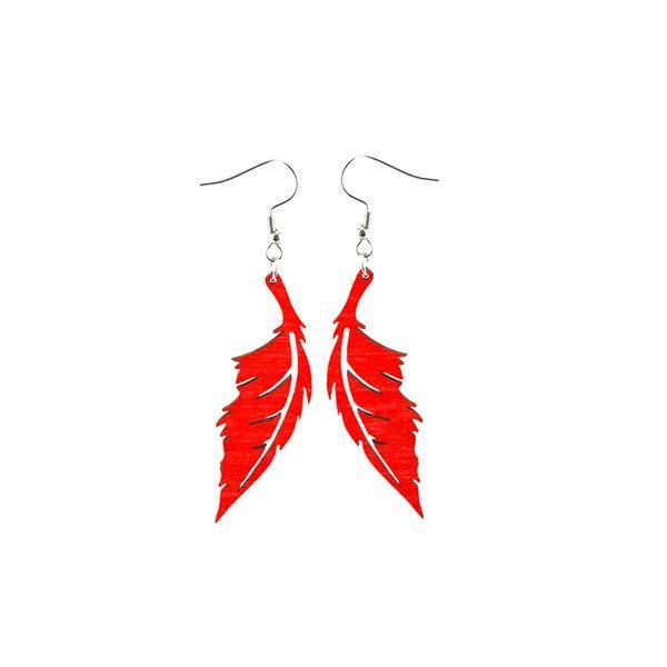Feather in the Wind earrings