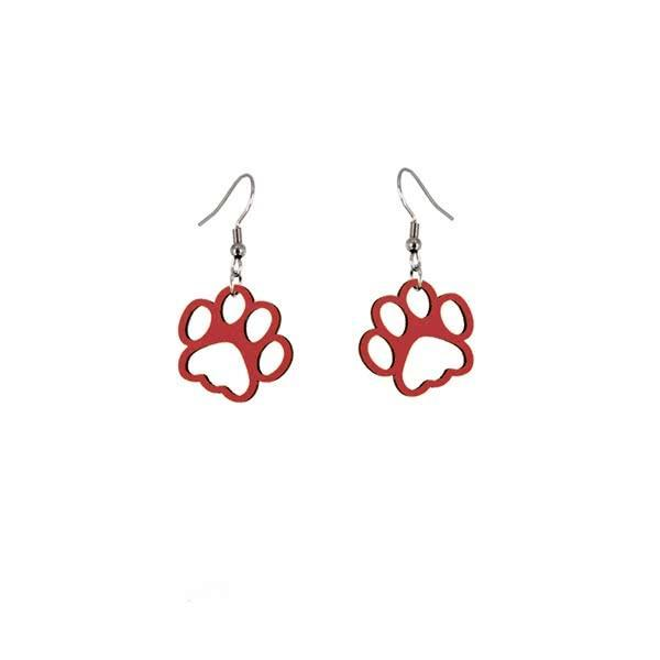 One Paw at a Time earrings