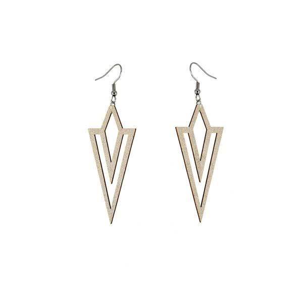 Sharp Mind earrings