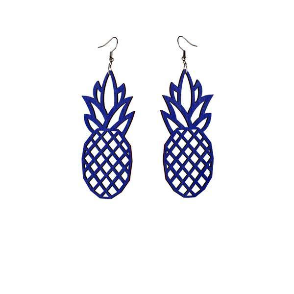 Tropical Pineapple earrings - ULJAS