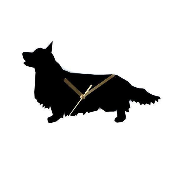 Welsh Corgi Cardigan  wall clock - Samaskoru.fi