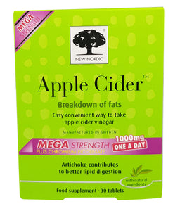 New Nordic Apple Cider Mega Strength - 30 Tablets