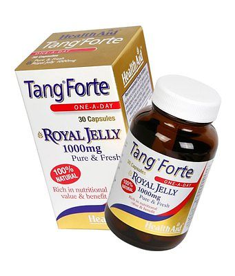 HEALTHAID TANGFORTE 30 CAPSULES ONE-A-DAY - ROYAL JELLY 1000mg - 100% Natural