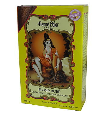 Spiritual Sky Henna Hair Colouring Powder - Golden Blonde 100g
