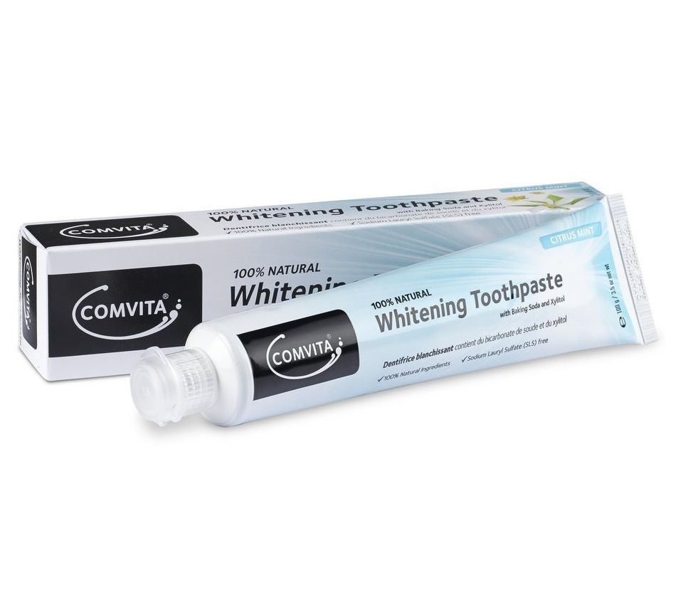 Comvita Whitening Toothpaste with Baking Soda 100g - mOrganics beauty