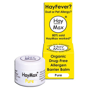 HayMax Organic Drug-Free Allergen Barrier Balm 5ml - Pure