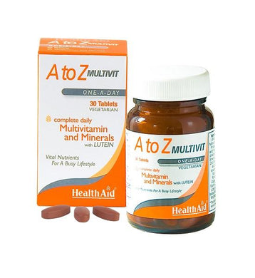 Healthaid A To Z Multivit 30 Vegetarian Tablets