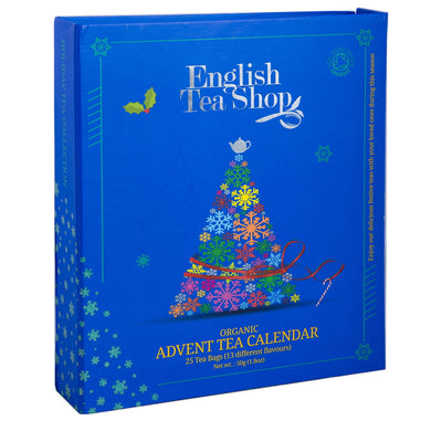English Tea Shop Organic Book Style Advent Calendar 25 Teabags