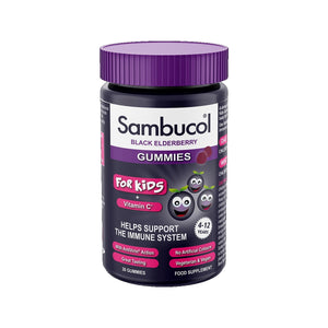 Sambucol Black Elderberry Gummies for Kids 30s