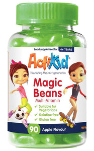 Actikid Magic Beans Multi-Vitamin Apple Flavour 90 beans