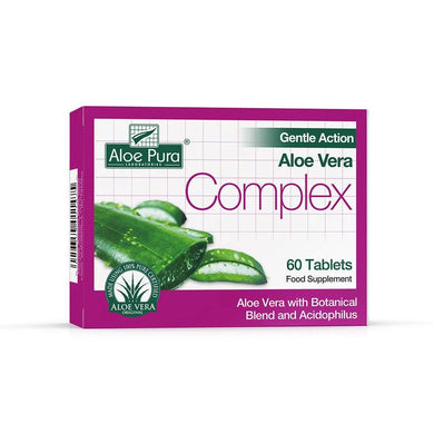 Aloe Pura Gentle Action Aloe Vera Complex 60 Tablets - mOrganics Beauty