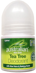 Australian Tea Tree Deodorant with Aloe Vera and Baking Soda 50ml - mOrganics beauty