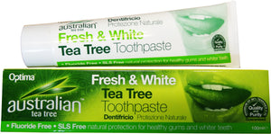 Australian Tea Tree Fresh & White Tea Tree Toothpaste 100ml