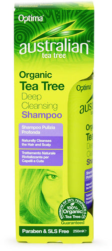 Australian Tea Tree Organic Tea Tree Deep Cleansing Shampoo 250ml
