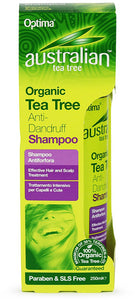 Australian Tea Tree Organic Tea Tree Anti-Dandruff Shampoo 250ml