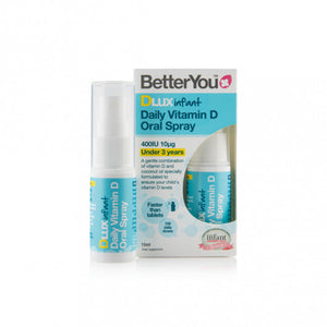 Better You DLux Infant Daily Vitamin D Oral Spray 15ml - mOrganics Beauty