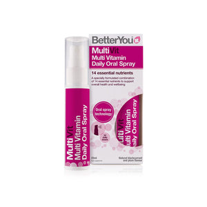 BetterYou Multi Vit Daily Oral Spray 25ml - mOrganicsbeauty