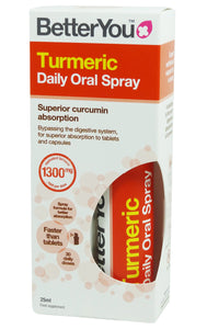 BetterYou Turmeric Oral Spray 25ml - mOrganicsbeauty