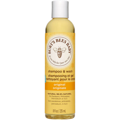 Burt's Bees Baby Bee Shampoo & Wash Original 8oz/235ml - mOrganicsbeauty