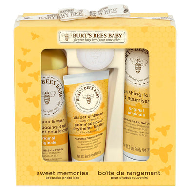 Burt's Bees Baby Bee Sweet Memories Keepsake Photo Box