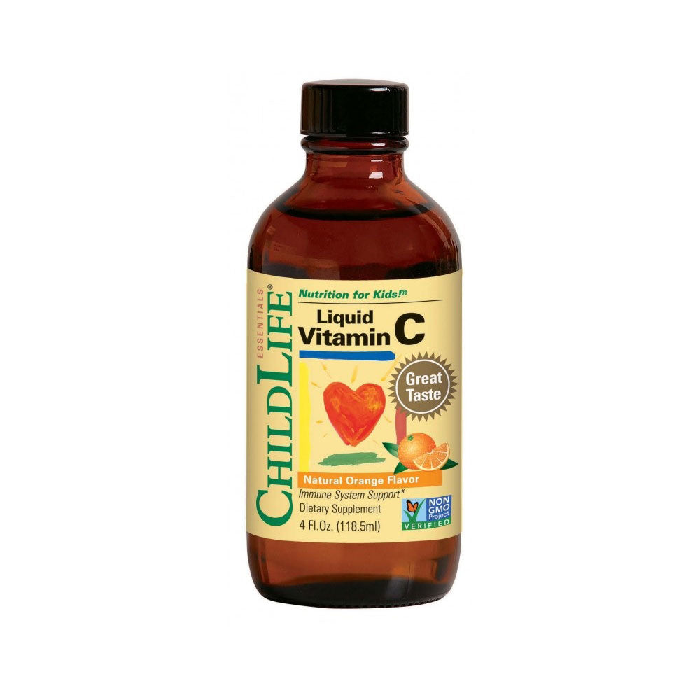 ChildLife Essentials - Liquid Vitamin C Orange Flavour 118ml/ 4 fl.oz