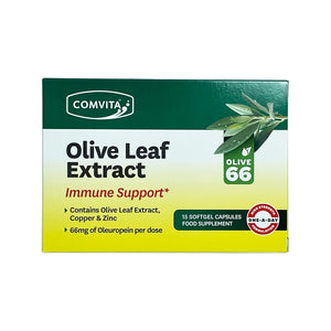 Comvita Olive Leaf Extract Immune Support 15 Day Blister Pack - mOrganics Beauty
