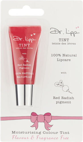 Dr Lipp Moisturising Colour Tint Lip Balm 8ml - Red Radish