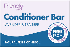 Friendly Soap Lavender & Tea Tree Conditioner Bar 95g