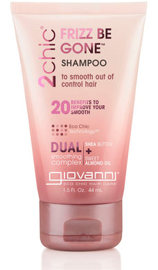 Giovanni 2chic Frizz Be Gone Shampoo 44ml - Travel Size