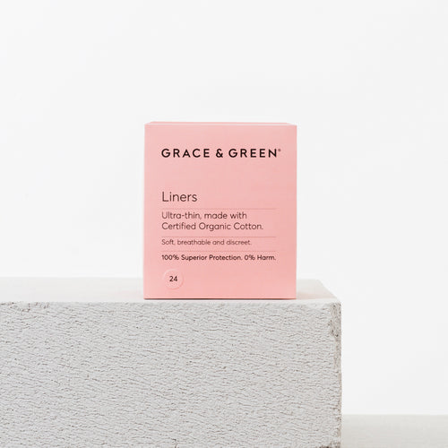 Grace & Green - Pack of 24 Panty Liners