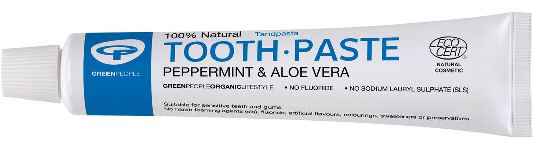 Green People Peppermint & Aloe Vera Toothpaste 50ml