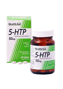 Healthaid 5-HTP 50mg 60 Vegetarian Tablets