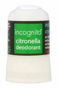 Incognito Citronella Natural Crystal Deodorant