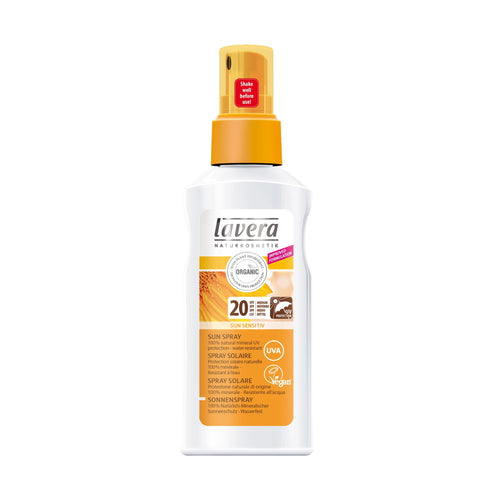 Lavera Sun Sensitiv SPF20 Sun Spray 125ml