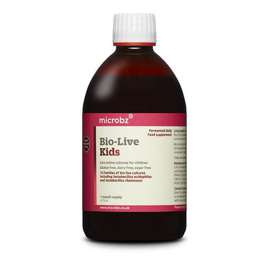 Microbz Bio-Live Kids Live Active Cultures 475ml