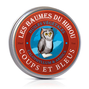 Mr Hibou's Adventures - Bumps & Bruises Massage Balm 30ml