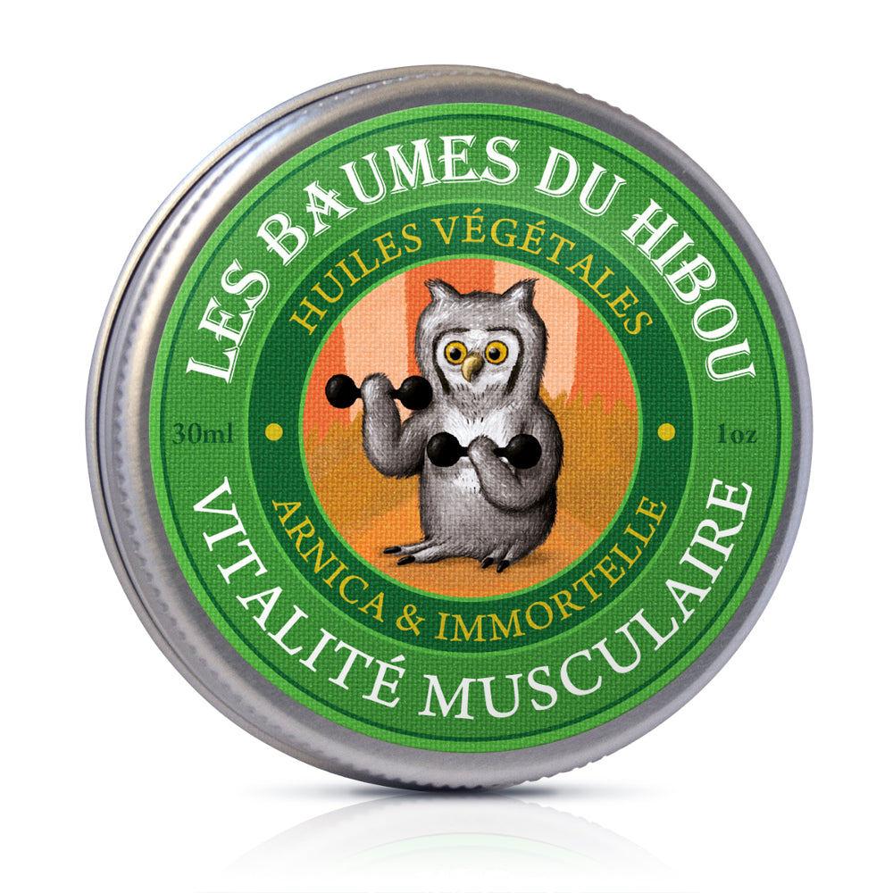 Mr Hibou's Adventures - Muscular Vitality Massage Balm 30ml