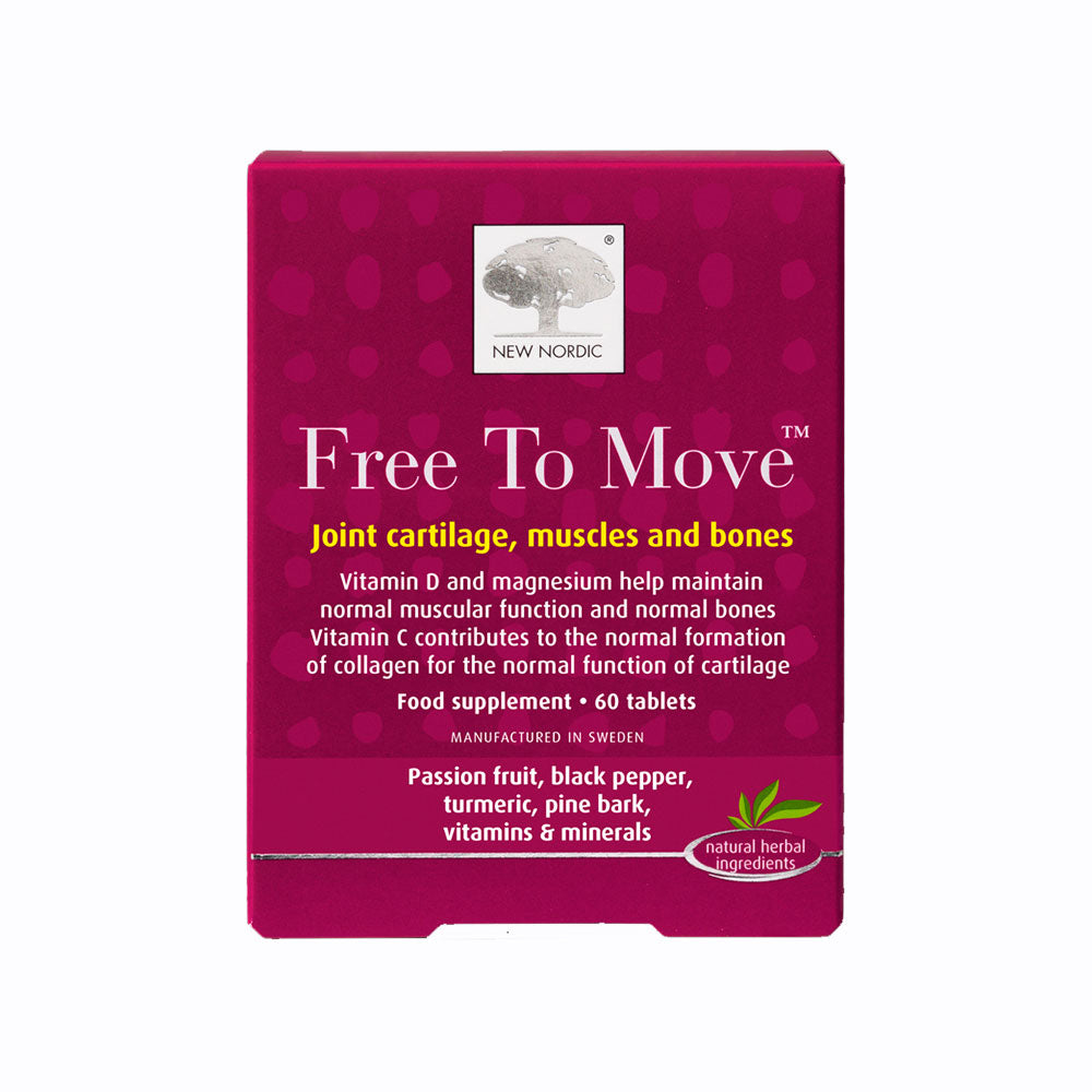 New Nordic Free To Move 60 Tablets