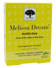 New Nordic Melissa Dream 40 tablets