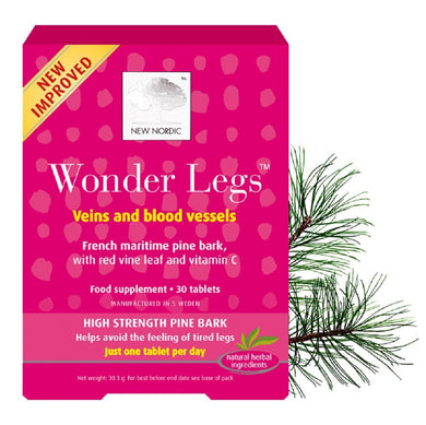 New Nordic Wonder Legs 30 Tablets