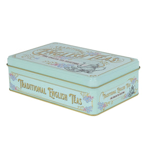 New English Teas Vintage Victorian Tea Tin with 72 teabag selection