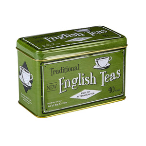 New English Teas Vintage Selection English Afternoon Tea Tin 40 Teabags