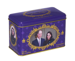 New English Teas Duke and Duchess of Cambridge Contains 40 English Breakfast tea