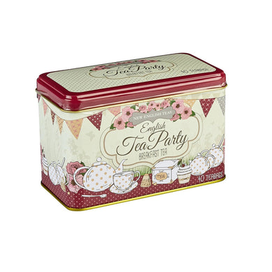 New English Teas - 'English Tea Party' Earl Pink Tea 40 Teabags