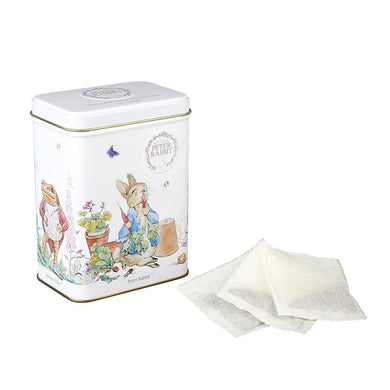 New English Teas Beatrix Potter Collection Tea Tin with 40 English Breakfast Teabags
