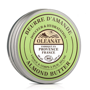 Oleanat Organic Sweet Almond Body Butter 50ml