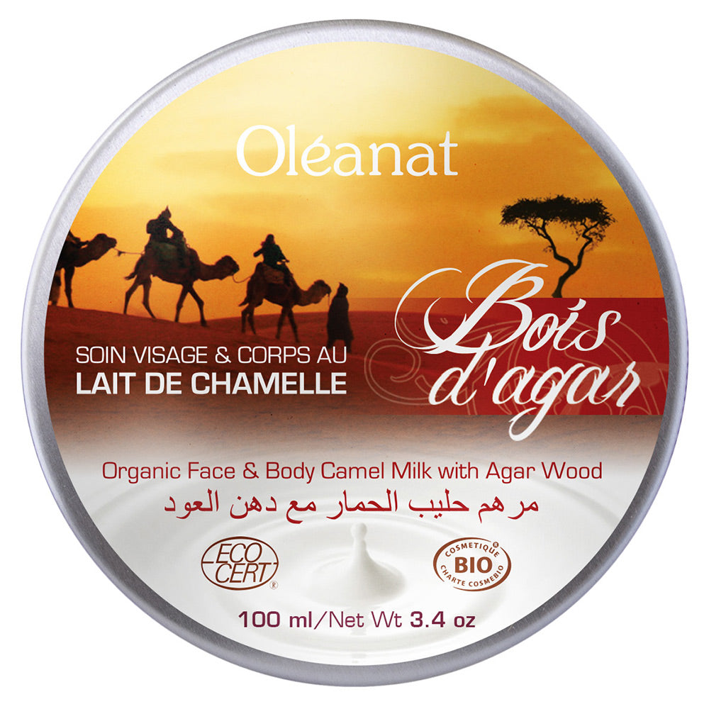 Oleanat Face & Body Balm with Organic Camel Milk & Agarwood 100ml