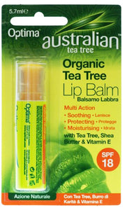 Australian Tea Tree Organic Tea Tree Lip Balm 5.7ml